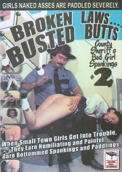County Sheriff's Bad Girl Spankings #2 Box Cover