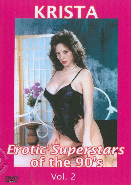 Erotic Superstars Of The 90's Vol. 2 Box Cover