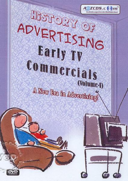 History Of Advertising:  Early TV Commercials DVD 2 Box Cover
