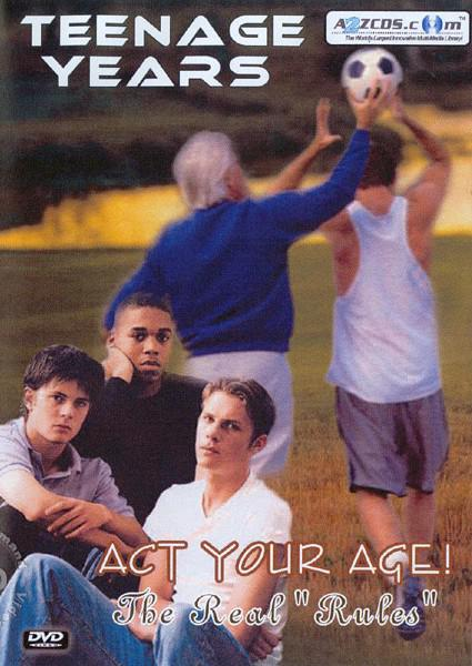 Teenage Years - Act Your Age! DVD 2 Box Cover