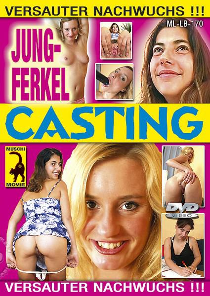 Jung-Ferkel Casting (Young Girls Casting) Box Cover