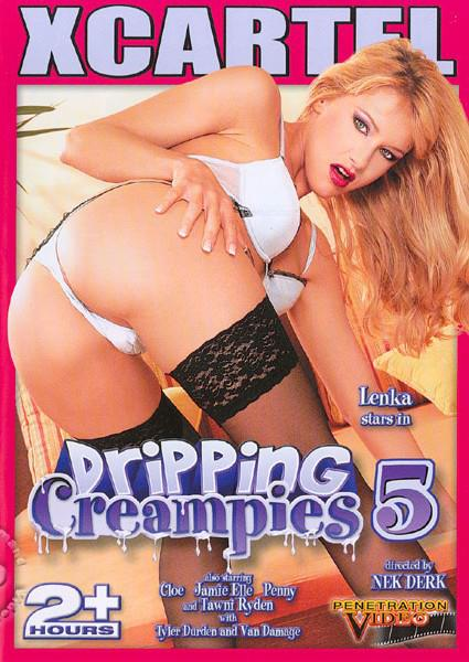 Dripping Creampies 5 Box Cover