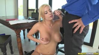 Big Tits On The Clock: The Blonde Boss Edition Clip 3 01:22:40
